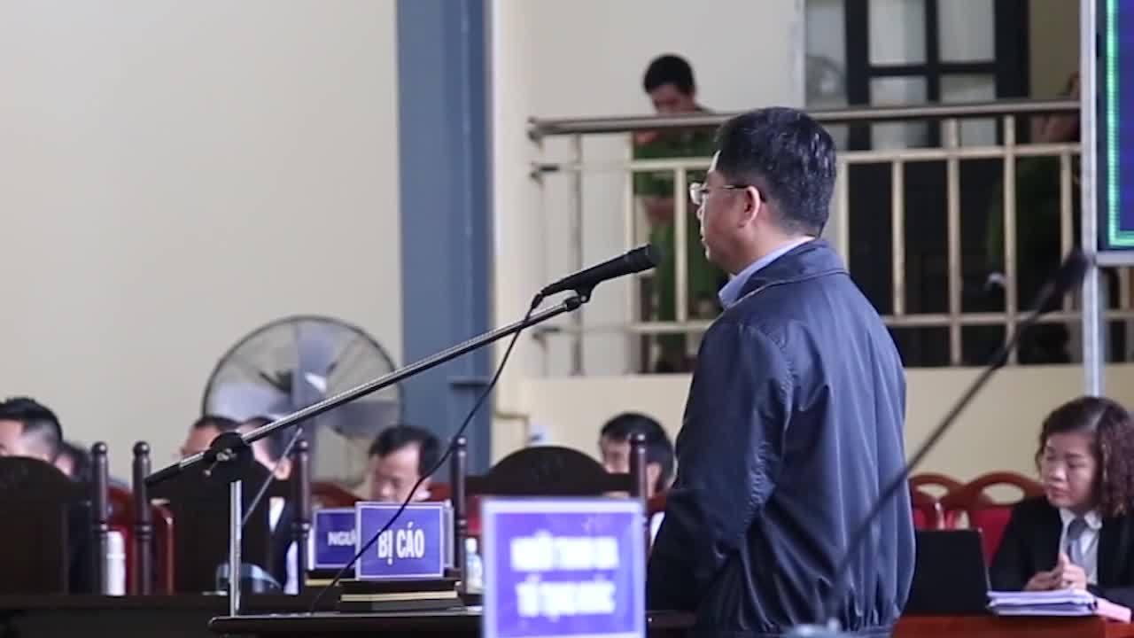 Nguyễn Văn Dương trả lời thẩm vấn tại toà