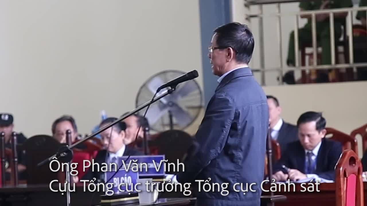 Ông Phan Văn Vĩnh trả lời thẩm vấn luật sư