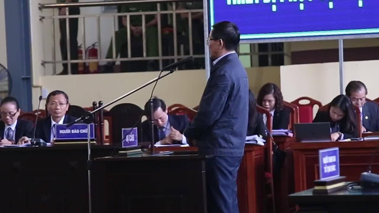 Ông Phan Văn Vĩnh trả lời thẩm vấn sáng 20/11