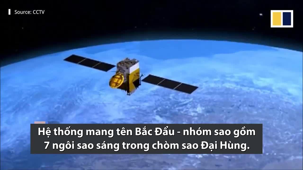 Hệ thống định vị toàn cầu của Trung Quốc cạnh tranh với GPS