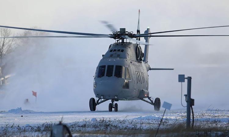 Nga thử biến thể trực thăng vận tải quân sự Mi-28T