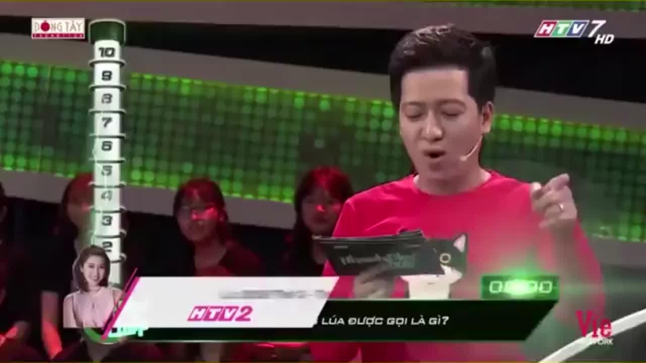 Trường Giang bấn loạn khi Lê Lộc thi 'Nhanh như chớp'