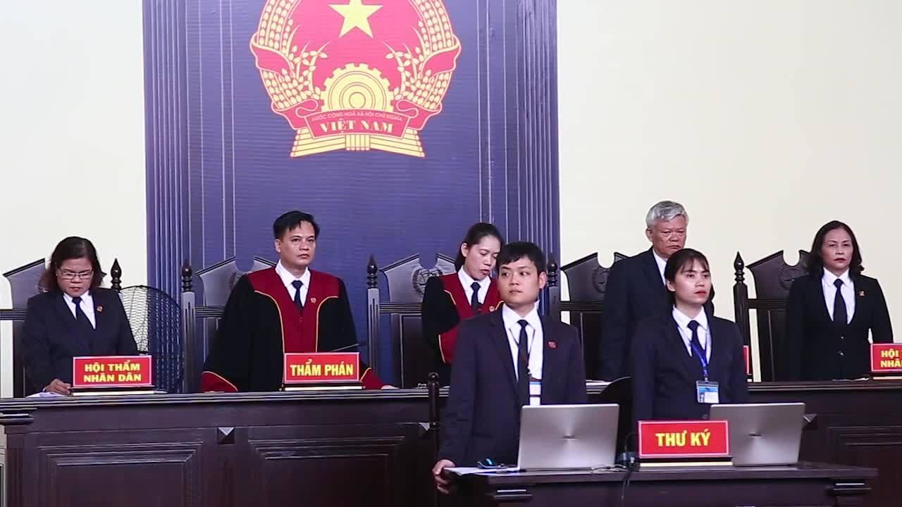 HĐXX tuyên mức án với các bị cáo