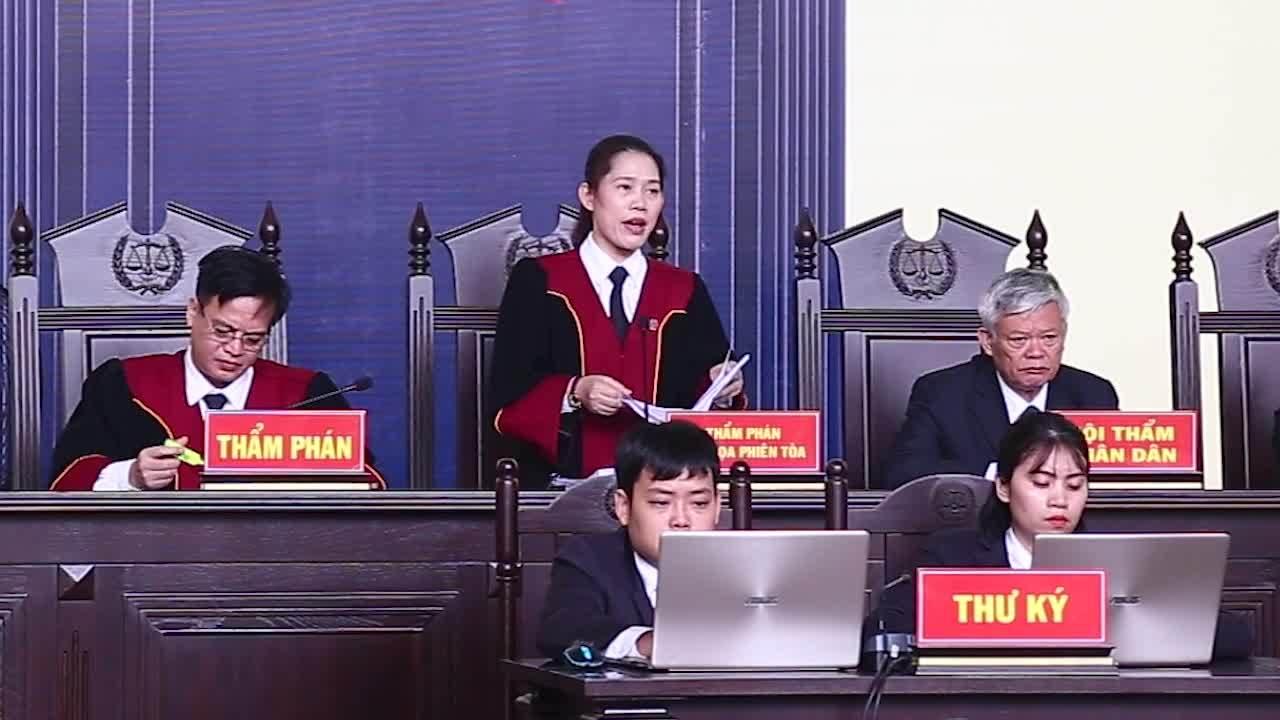 Toà nhận định tội danh bị cáo Phan Văn Vĩnh