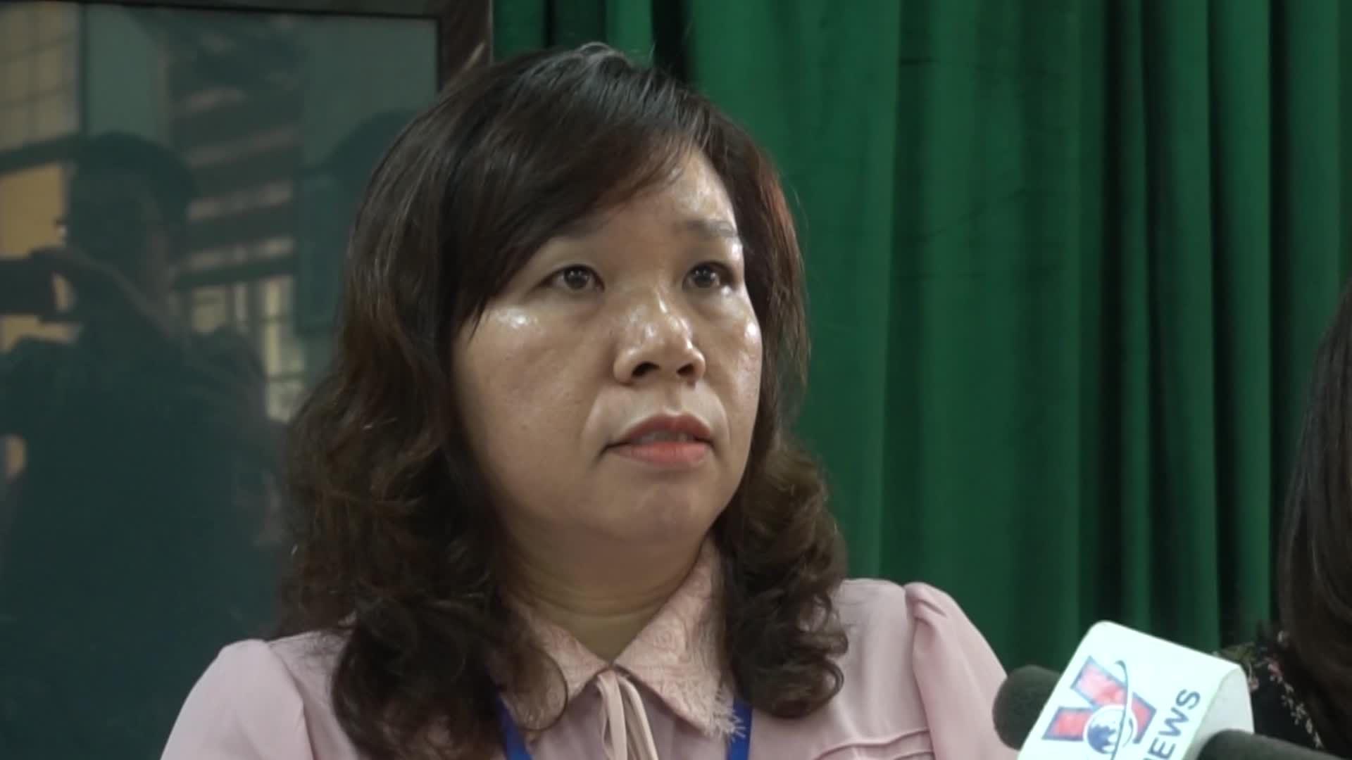 Hiệu trưởng trường Quang Trung trả lời