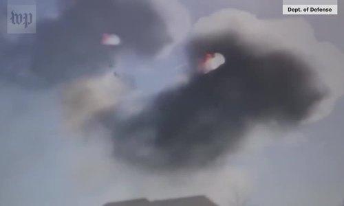 Phút kinh hoàng trên tiêm kích F-16 Mỹ chết động cơ năm 2017