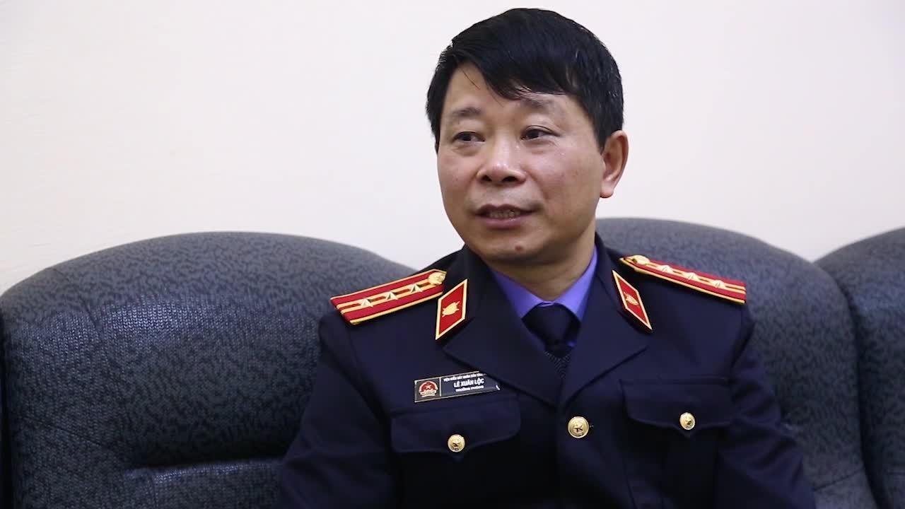 Đại diện VKS Phú Thọ nói về bắt ông Hoá