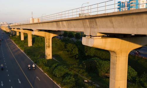Hiện trạng tuyến metro số 1 TP HCM sau 11 năm xây dựng (up lại)