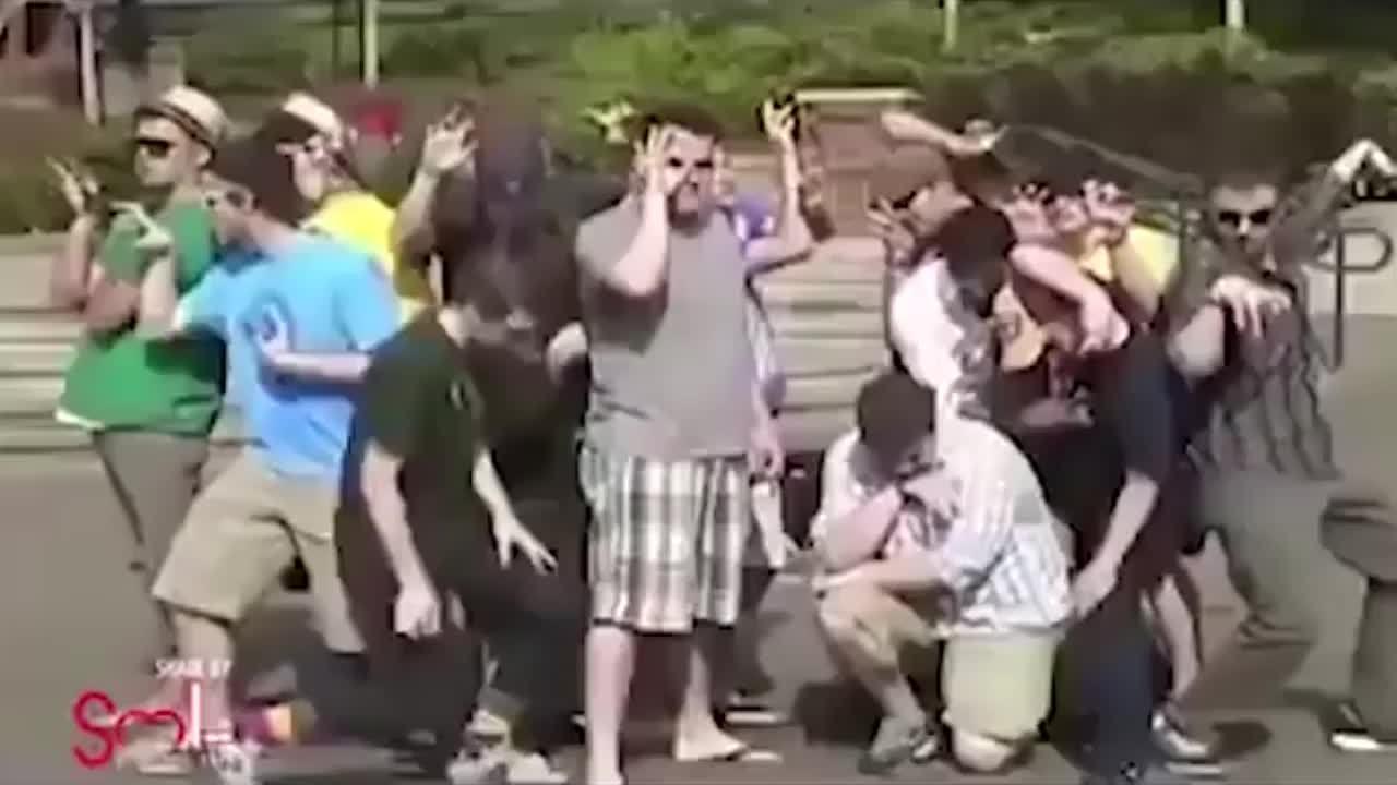 Màn trình diễn đỉnh cao của nhóm nhảy nghiệp dư