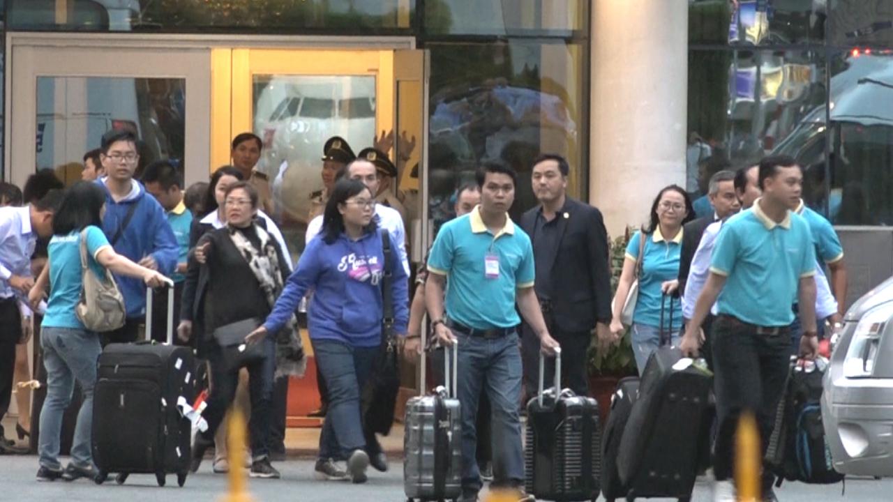 Đoàn du khách 9 người bị đánh bom ở Ai Cập về sân bay Tân Sơn Nhất
