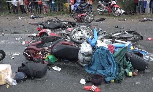 Lời kể của nạn nhân trong vụ tai nạn ở Long An