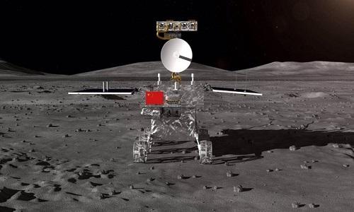 Tàu vũ trụ Trung Quốc đổ bộ thành công phần tối của Mặt Trăng