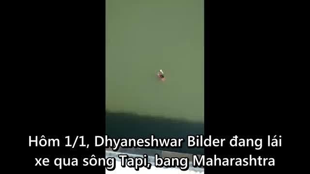 Người đàn ông nhảy từ cầu cao 21 mét xuống sông cứu phụ nữ tự tử