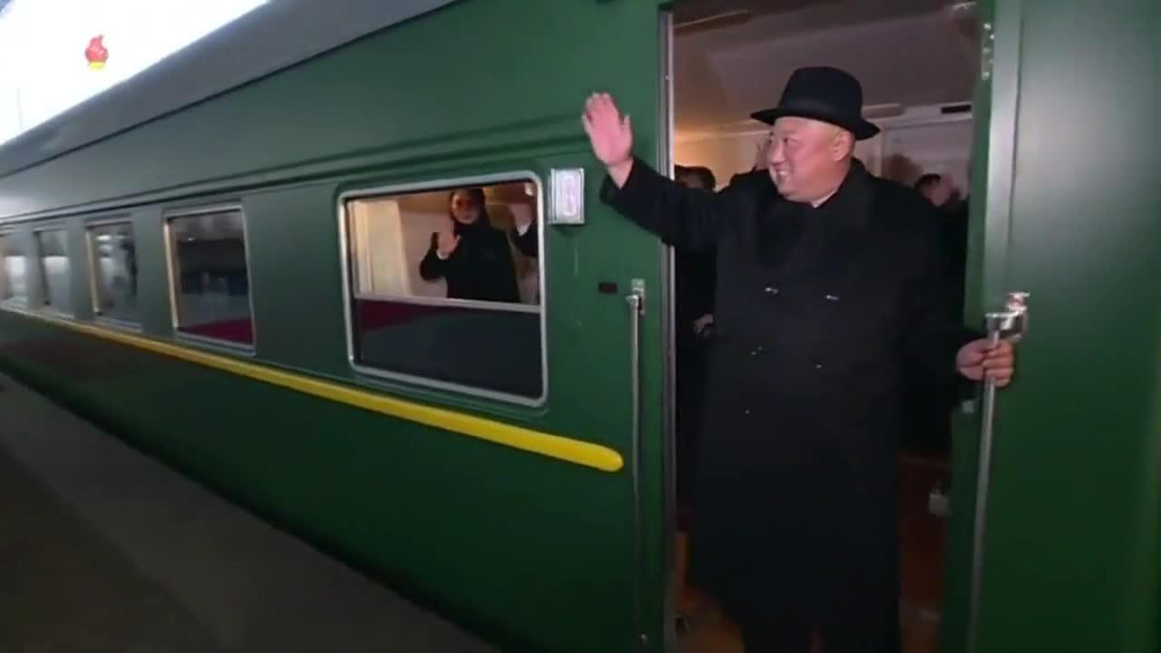 Triều Tiên chiếu cảnh Kim Jong-un xuất phát đi Bắc Kinh