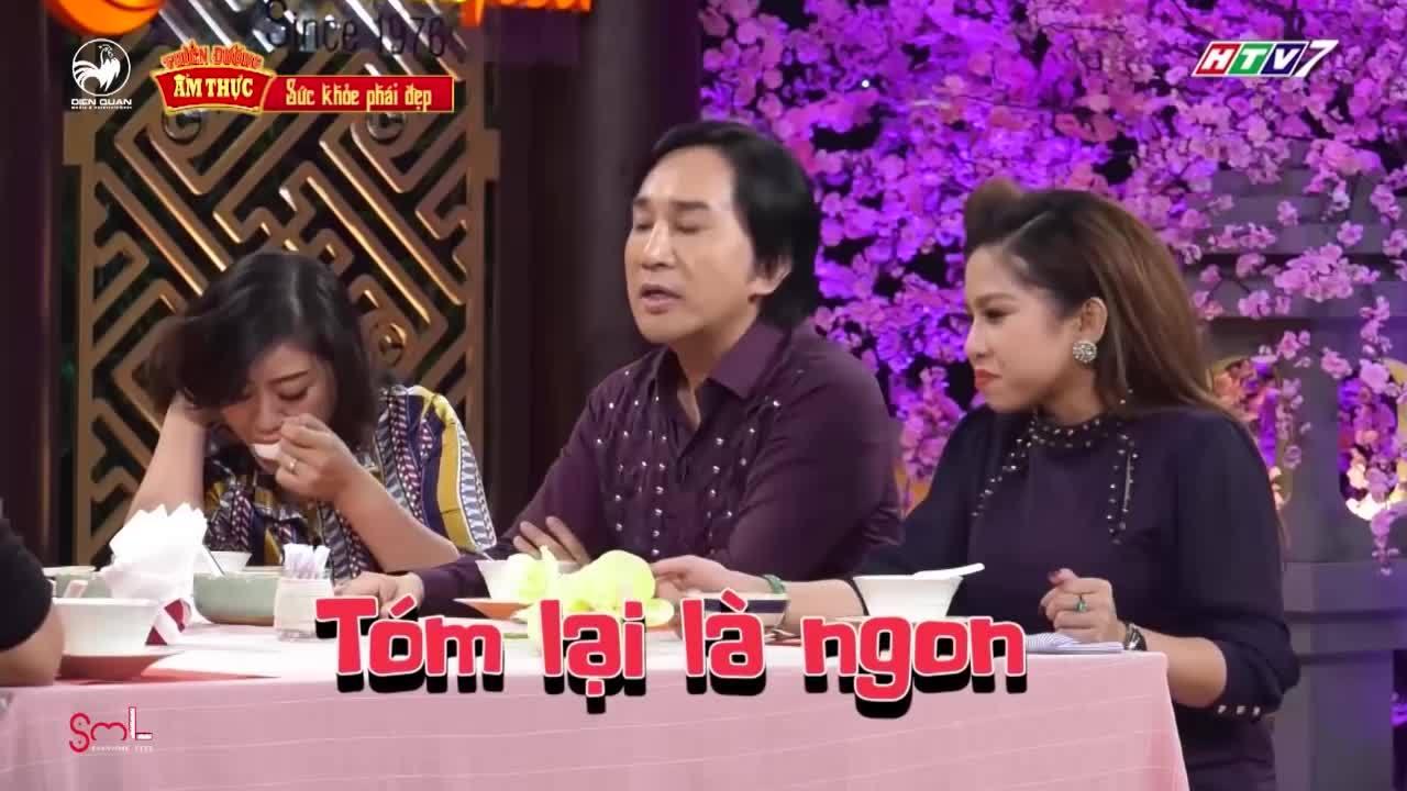 Kim Tử Long thể hiện kiến thức ẩm thực cao thâm
