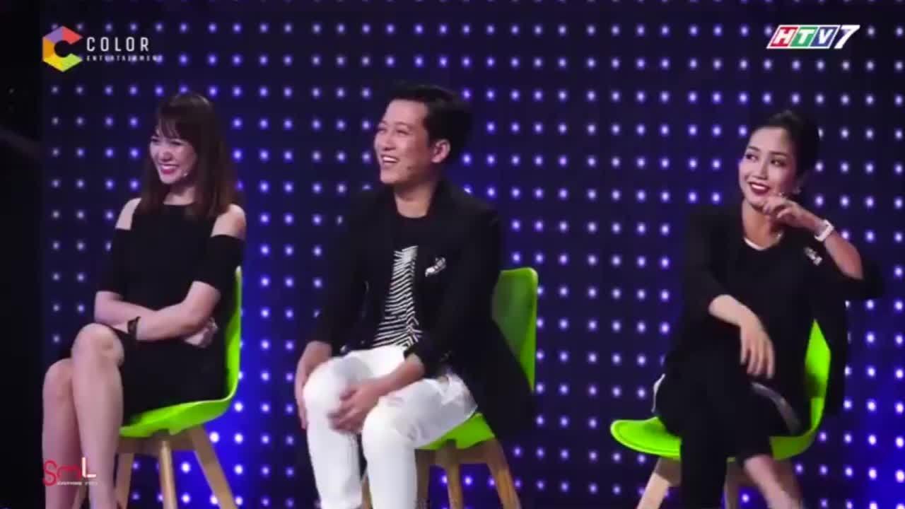 Khả năng nói tiếng Việt của Hari Won tại 'Giọng ải giọng ai'