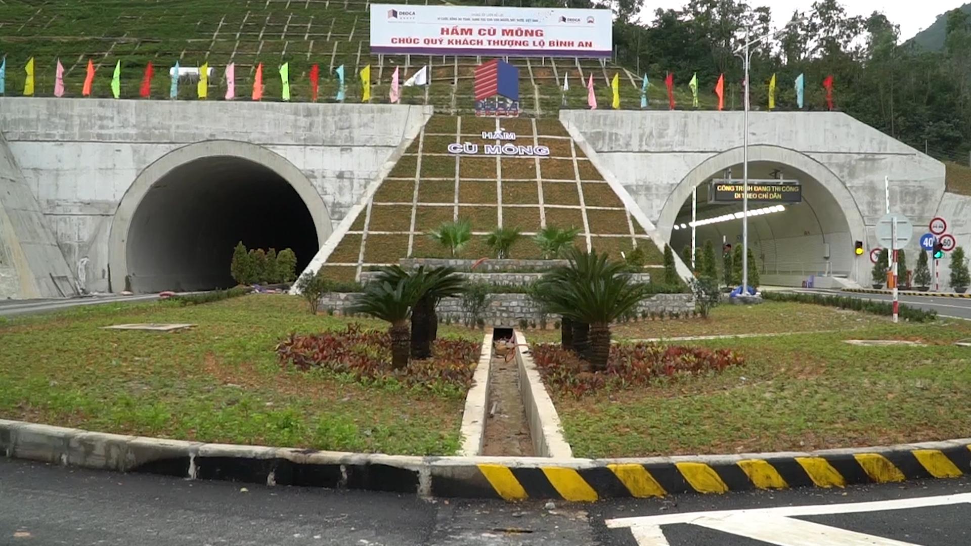 Hầm Cù Mông thông xe vào ngày mai