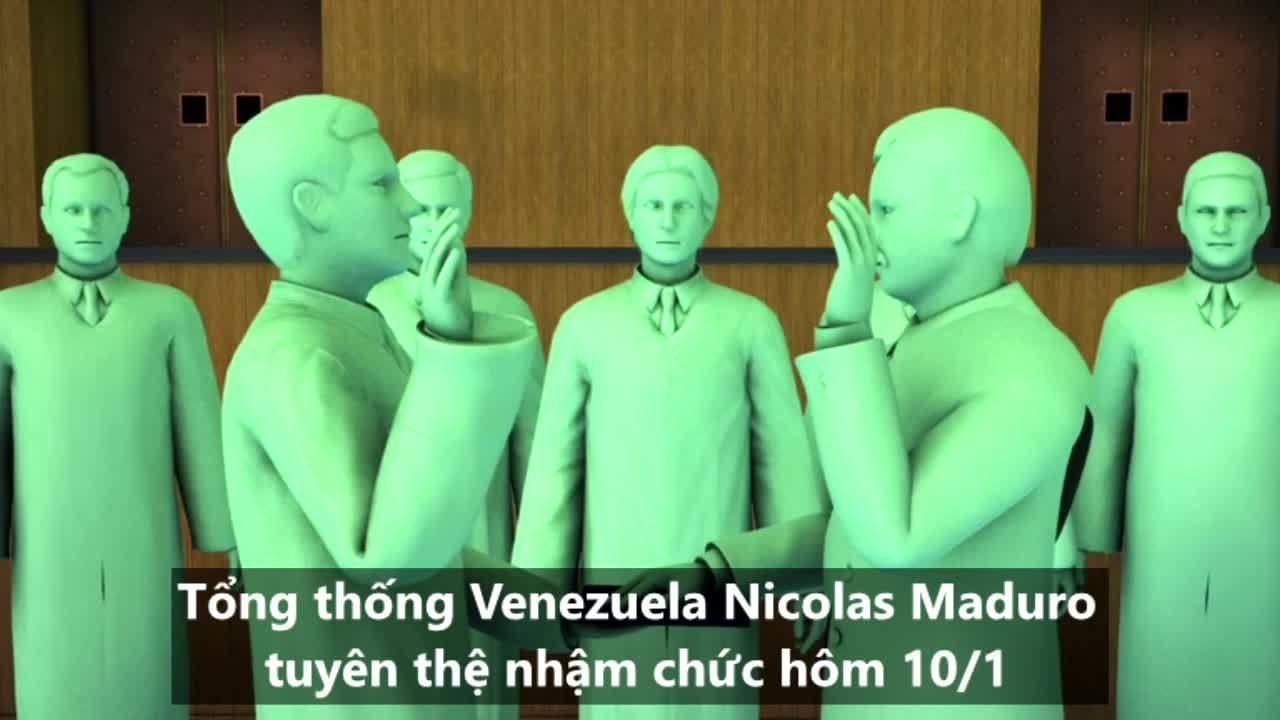 Cán cân quyền lực trong cuộc khủng hoảng Venezuela