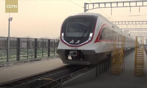Tàu điện ngầm nhanh nhất Trung Quốc vận hành thử nghiệm