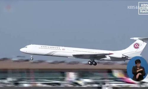 Đài Hàn nói chuyên cơ của Kim Jong-un đã bay thử đến Hà Nội
