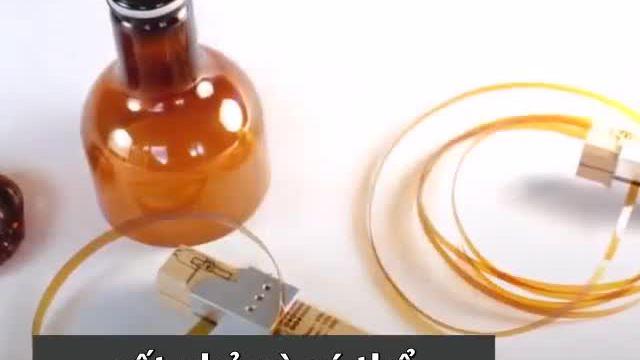Thiết bị biến chai nhựa cũ thành sợi dây mảnh