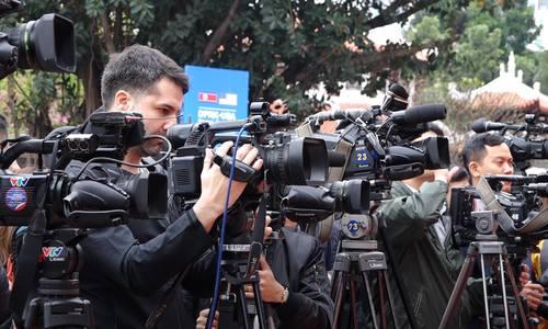 Trung tâm báo chí sẵn sàng phục vụ hội nghị thượng đỉnh Mỹ - Triều