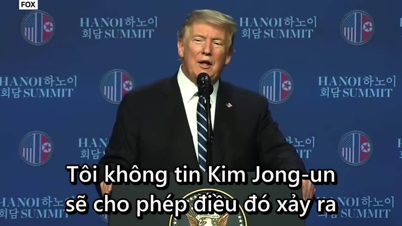 Trump tin Kim Jong-un không biết về cái chết của sinh viên Mỹ