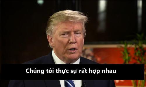 Cuộc trả lời phỏng vấn truyền hình Mỹ của Trump về Kim Jong-un