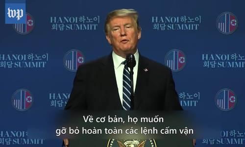 Những phát ngôn trái ngược giữa Trump và Ngoại trưởng Triều Tiên