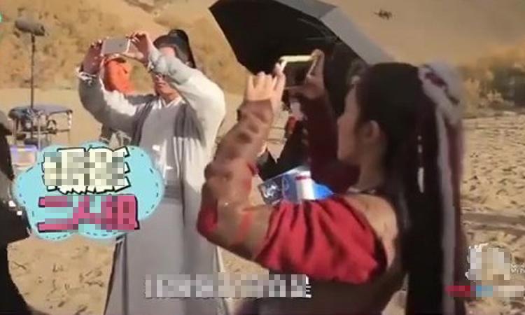 Hậu trường sống ảo hài hước của dàn diễn viên 'Đông Cung'