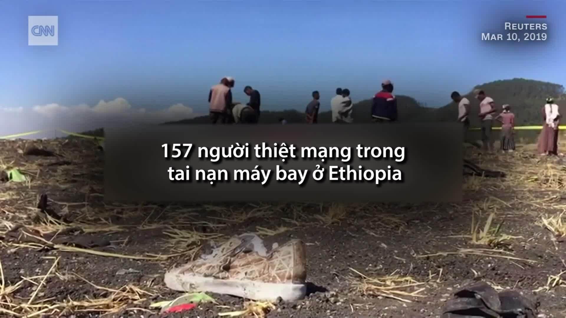 Vụ rơi máy bay Ethiopia diễn ra như thế nào?
