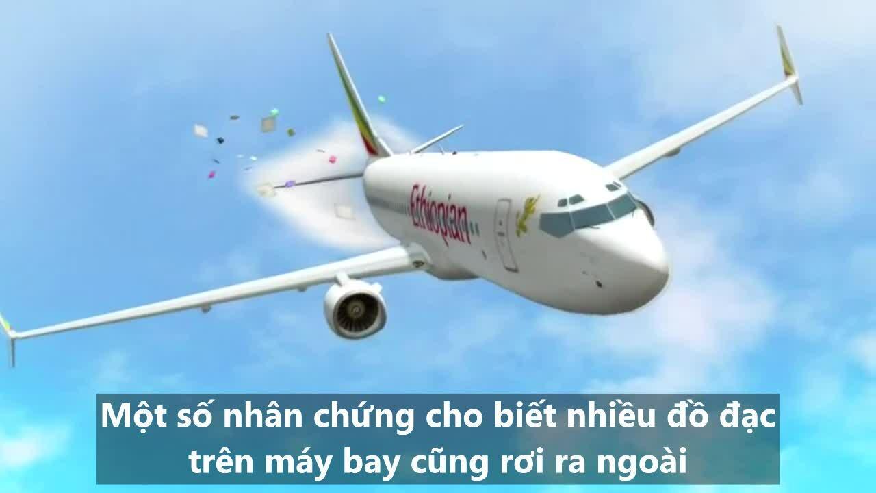 Phút cuối của máy bay Ethiopia qua lời kể nhân chứng