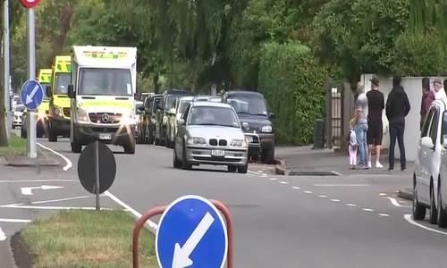 Hiện trường vụ xả súng tại nhà thờ Hồi giáo ở New Zealand