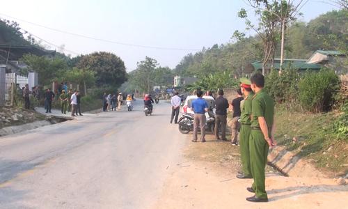 Công an Điện Biên khám nhà bị can vụ cô gái giao gà