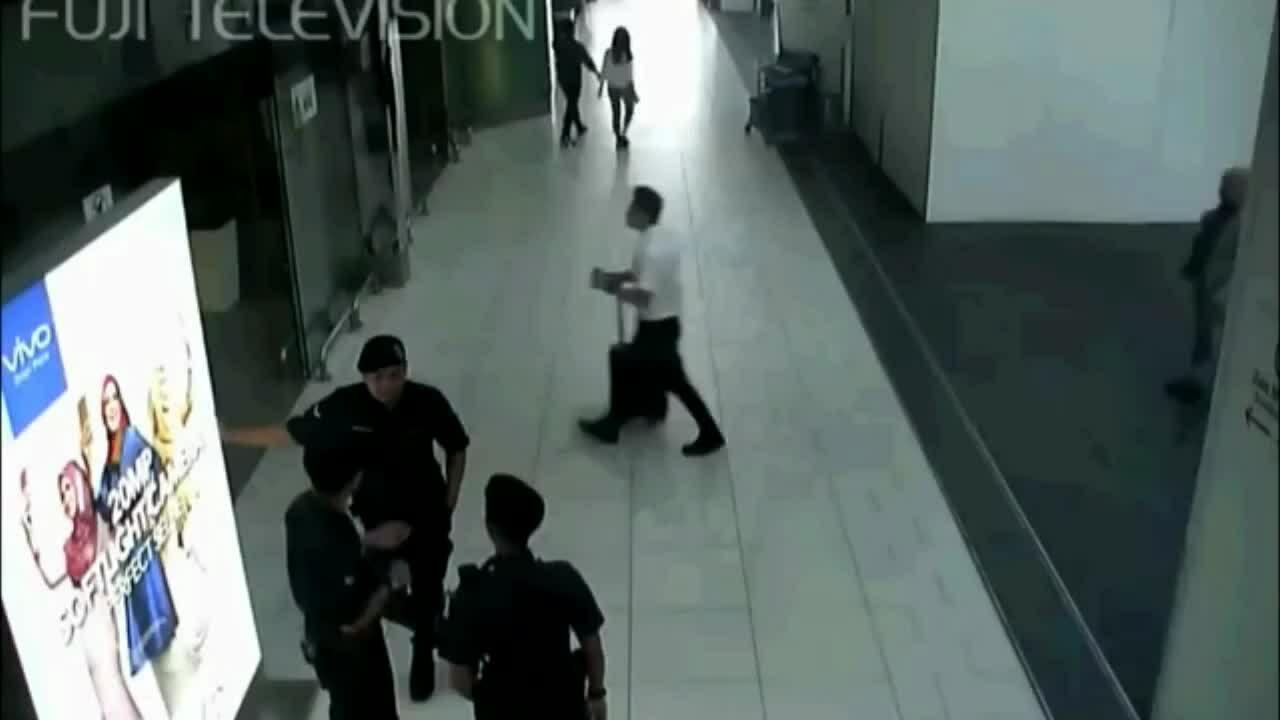 Khoảng khắc Kim Chol bị sát hại