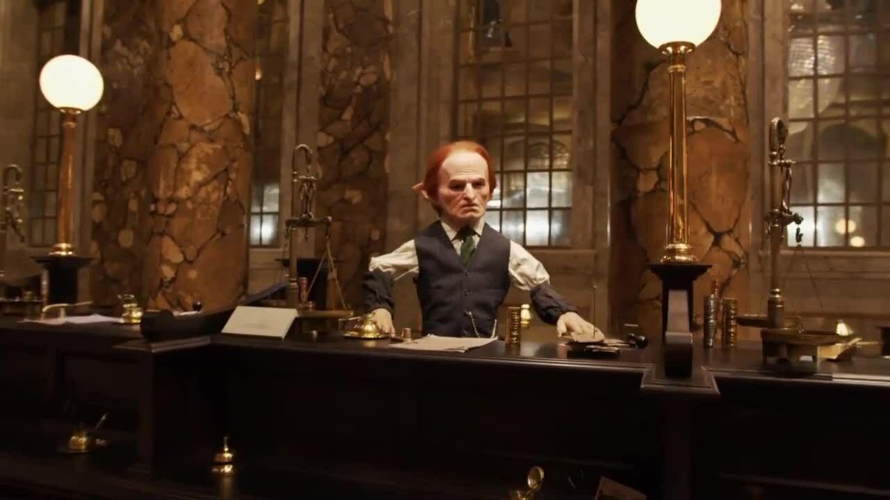 Ngân hàng Gringotts trong phim trường Harry Potter lần đầu mở cửa đón khách