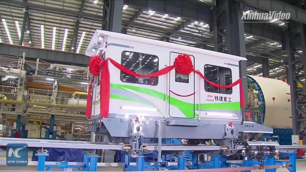 Phương tiện bảo trì đường ray đệm từ thông minh ở Trung Quốc