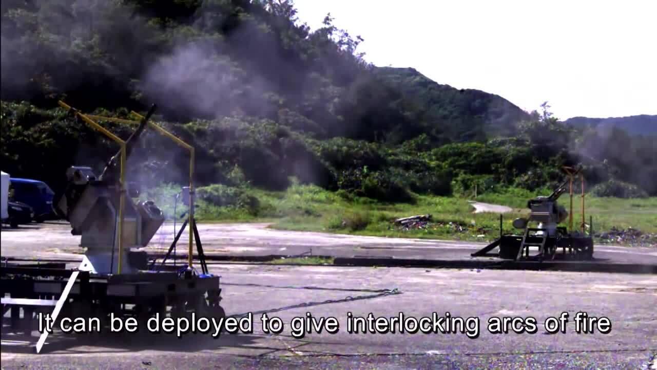 Đài Loan sắp triển khai pháo tự động trên bờ biển đối diện Trung Quốc