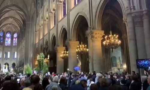Ngày Chúa nhật Lễ Lá cuối cùng tại Nhà thờ Đức Bà Paris trước vụ cháy
