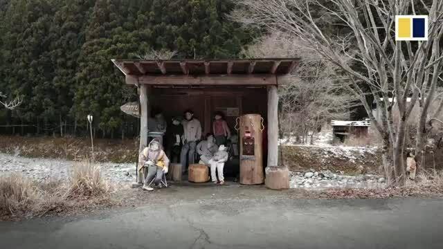 Ngôi làng Nhật có 'búp bê giả người' đông gấp 10 lần dân số