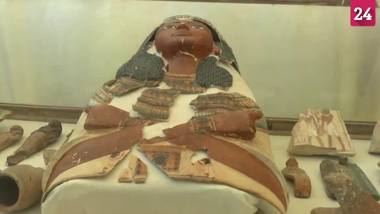 Phát hiện mộ cổ từ vương triều thứ 18 của Ai Cập cổ đại
