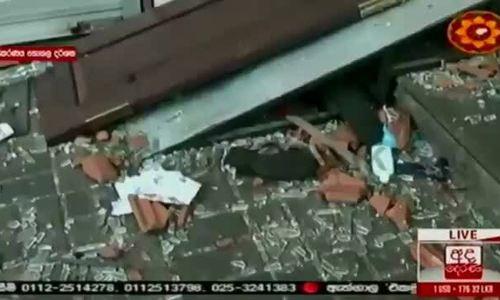 Hiện trường vụ nổ một loạt nhà thờ và khách sạn ở Sri Lanka
