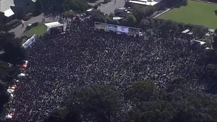 Hàng nghìn người Mỹ tập trung tại lễ hội cần sa