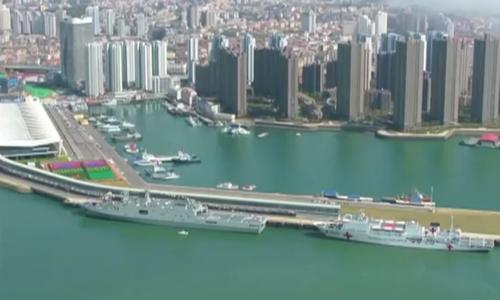Hải quân Trung Quốc kỷ niệm 70 năm thành lập