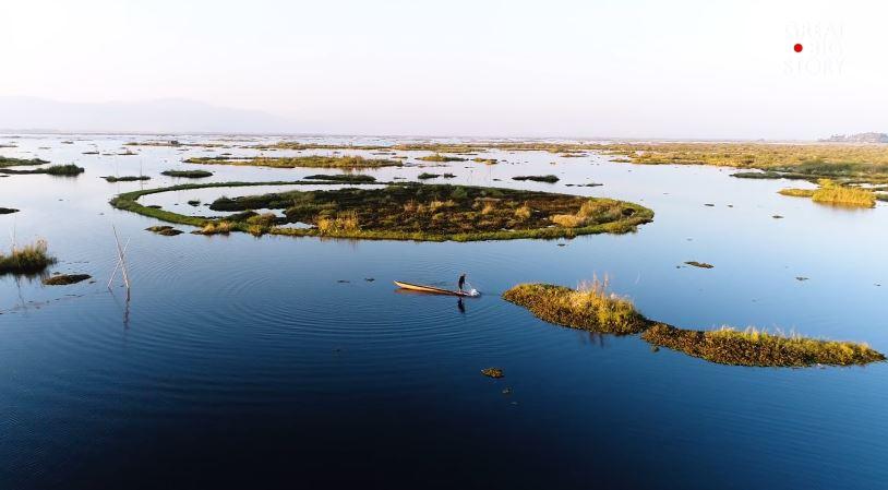 Vườn quốc gia nổi trên mặt nước ở Ấn Độ
