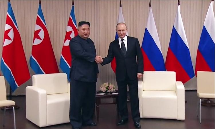 Nga muốn hỗ trợ tiến trình tích cực trên bán đảo Triều Tiên
