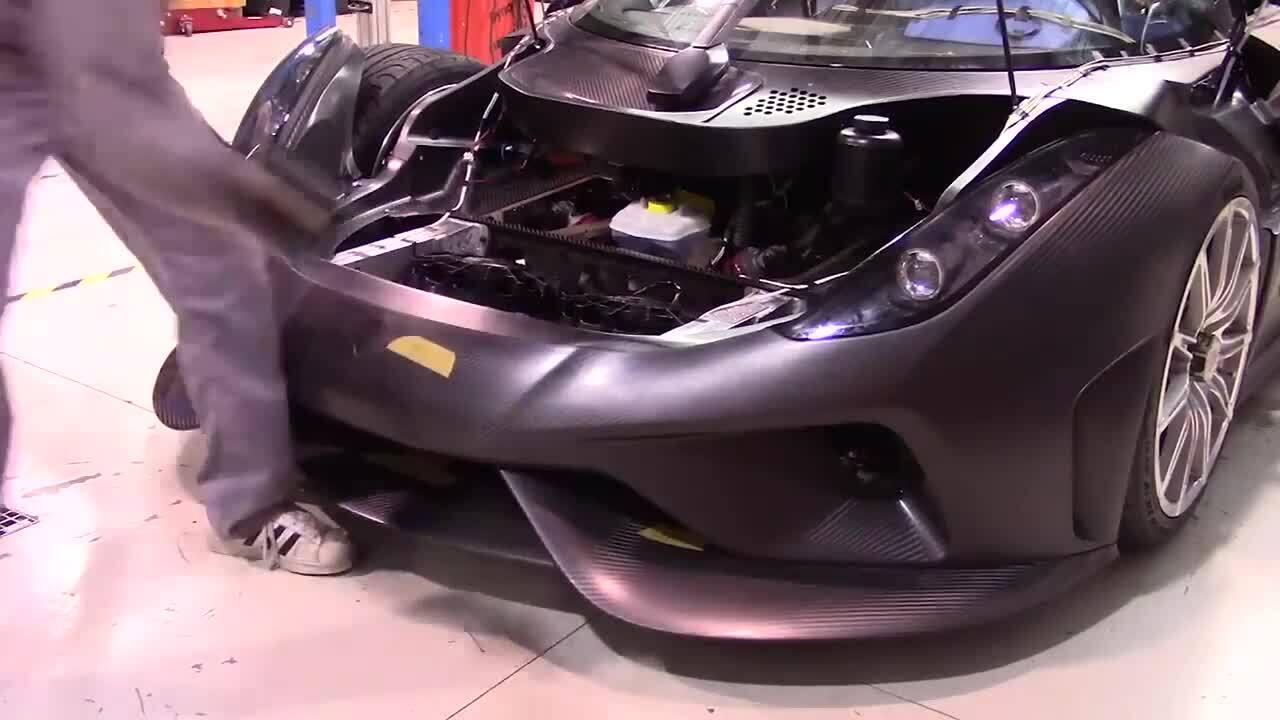 Cách thử nghiệm va chạm của siêu xe triệu đô Koenigsegg