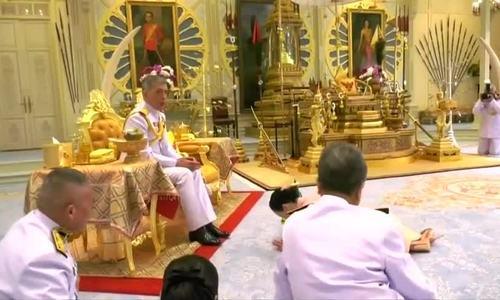 Lễ sắc phong nữ tướng thành Hoàng hậu Thái Lan