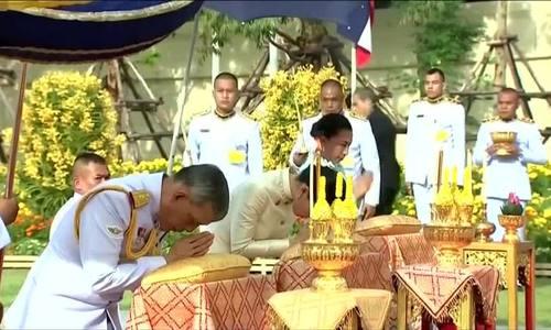 Quốc vương Thái Lan tưởng nhớ tổ tiên trước lễ đăng quang