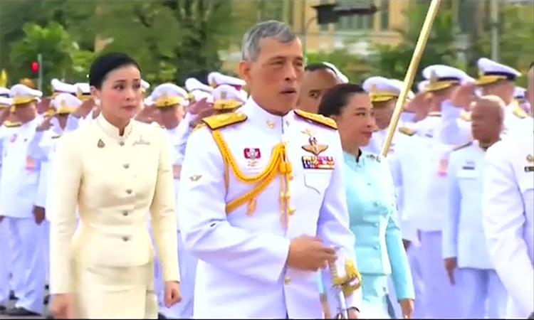Vai trò biểu tượng quốc gia của Vua Thái Lan